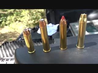 Гигантский револьвер. больше, чем .500 SW Magnum.Разрушительное ранчо _ Перев