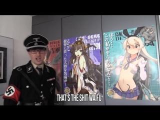 Angry German Nazi Otaku Room Tour (2017) _ 2017- meidocafe channel