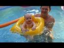 Карина в бассейне после банькиПтз