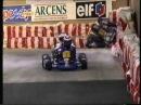 Go Kart racing Schumacher and Prost Paris-Bercy 1994