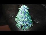 Модульное оригами новогодняя елка своими руками видео урок-схема, пошаговая инструкция