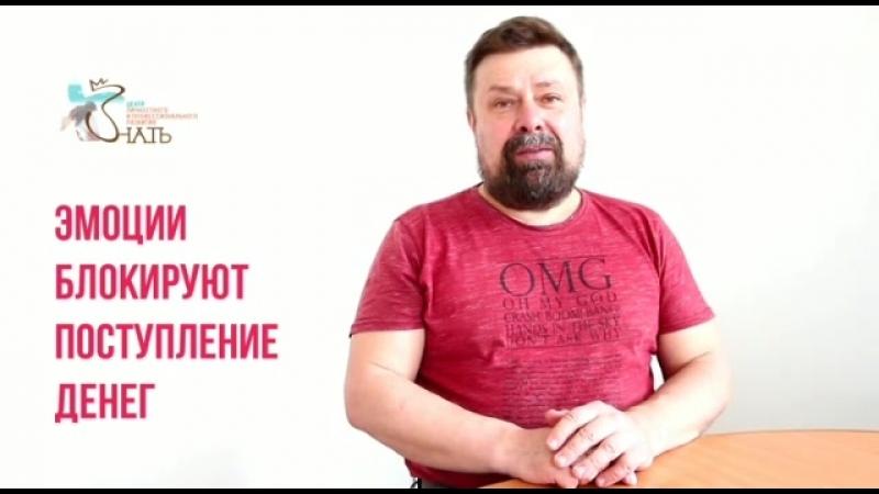 Олег Сударенко. Эмоции блокируют поступление денег