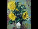 Choe SSi art stuio 최병화 정물화그리기강좌(유화-해바라기)1- How to draw a still life paiting (sun flower)