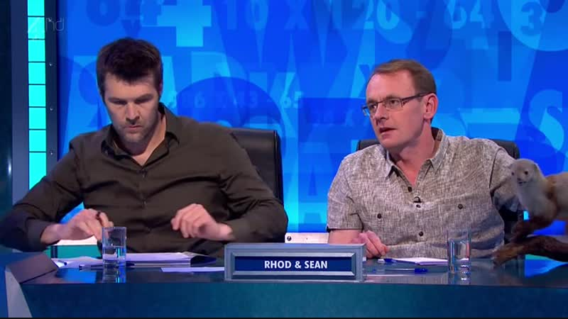 8 out of 10 Cats does Countdown S02E02 (02.08.2013)