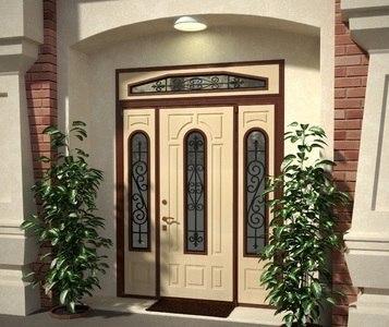 Установка нестандартных входных дверей, недорого, качественно