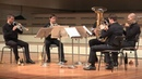 Malcolm Arnold Brass Quintet No 1 Op 73 I Allegro vivace