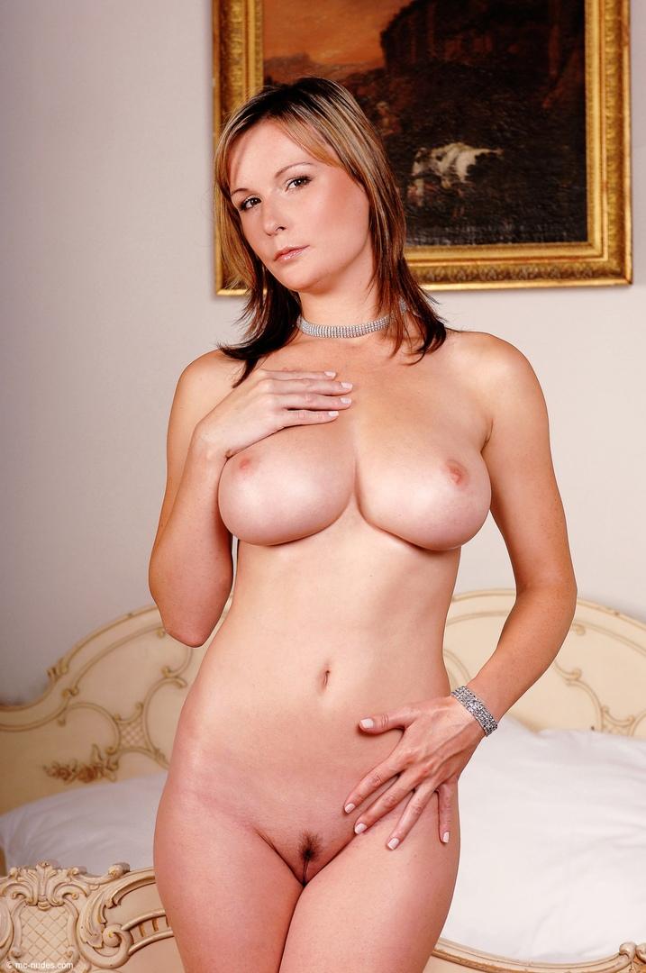 Teen aspirant model with pierced nipples