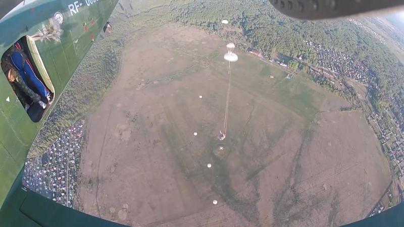 08.05.2016 Прыжок с парашутом