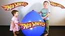 😀 Hot Wheels 🏎 Blue Giant Toys Surprise Egg Opening Review Adventure for Kids