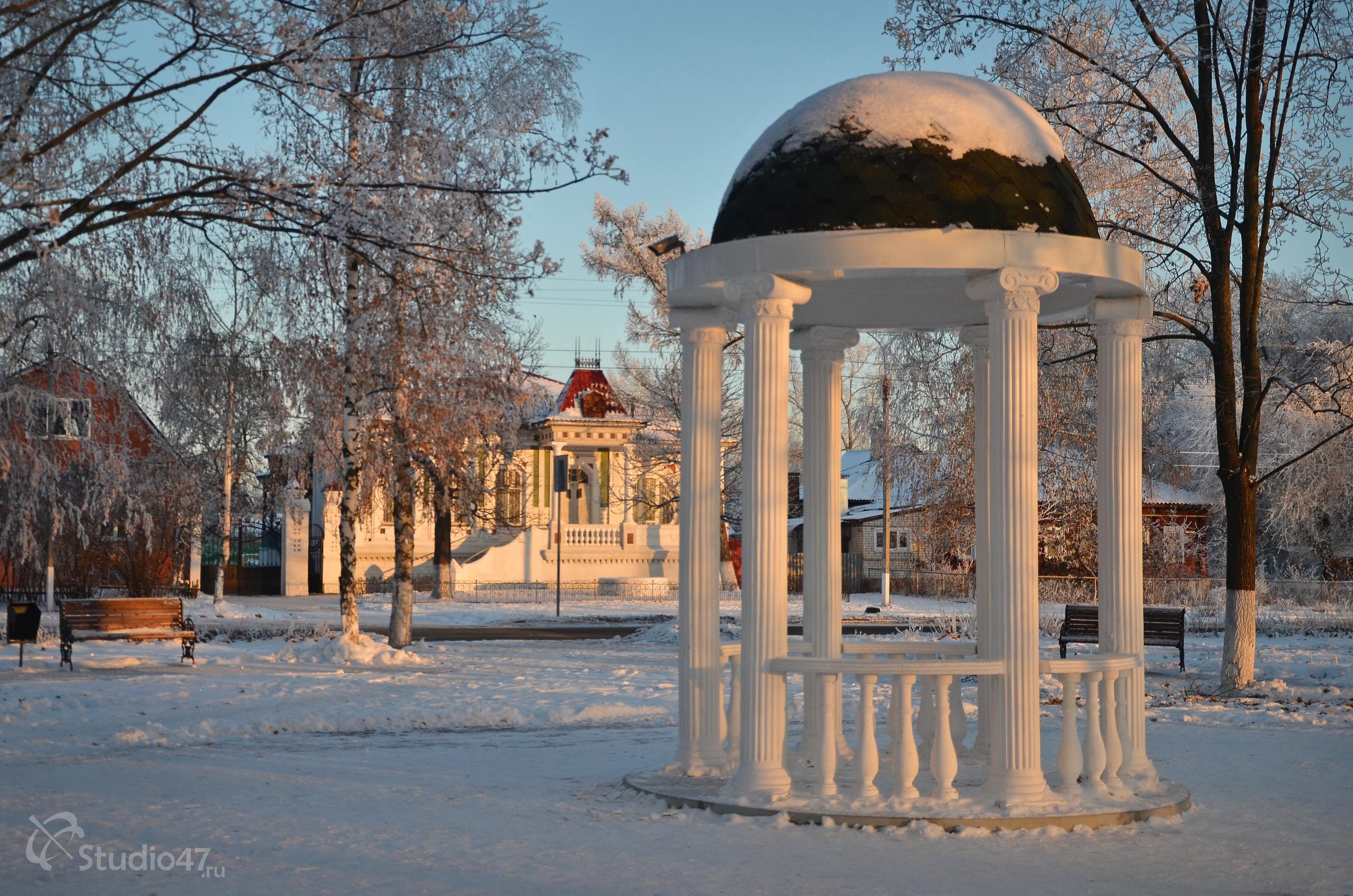 Театральный парк в Борисоглебске
