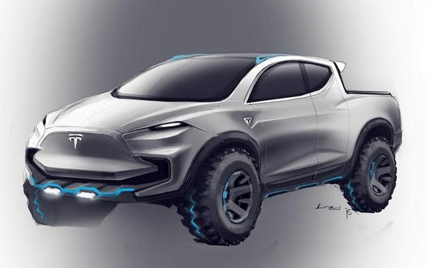 Маск напомнил о пикапе Tesla и пообещал показать прототип в следующем году.