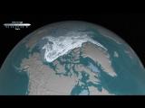 Time-Lapse о исчезновении арктического полярного льда