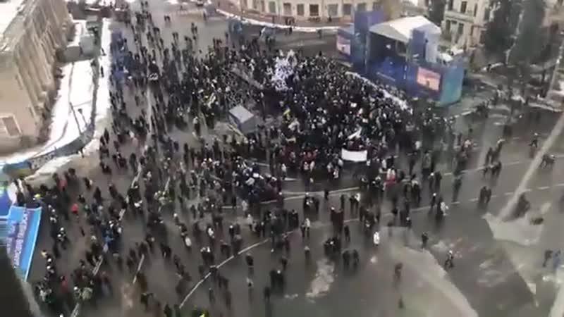 Мітинг Тимошенко. Київ. Зібраались міліони людей
