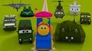 Боб поезд посещение военного лагеря Bob The Train Visit to the Army Camp in Russian