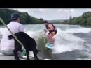 Very sensitive content А вы берете с собой козлёнка на катер 😂 goatboat goatlife somanyquestions takeoff surfclub takeoff