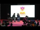 AVA EXPO 2013 - day 1 - сцена