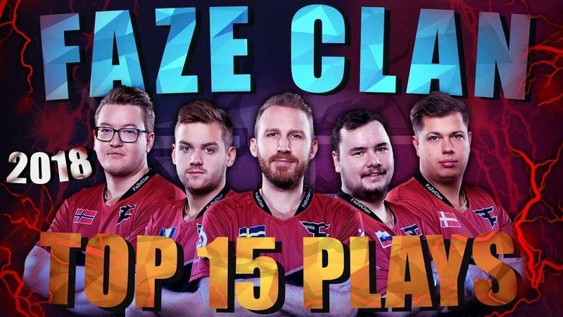 FaZe Clan - Top 15 Pro Plays Of 2018 (CSGO)