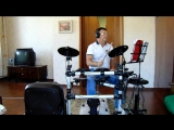 MAH01261The Unwritten Law(Не писанный закон)Deep Purple(1987g)drum cover Pautov W