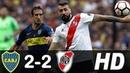 Boca Juniors 2 - 2 River Plate Todos los Goles Final IDA Copa Libertadores 2018