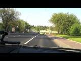 Погоня гаишников за Nissan GTR