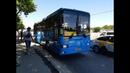 Поездка на заказном автобусе ЛиАЗ 5256 13 №160126 Дербеневская набережная Музей Кусково