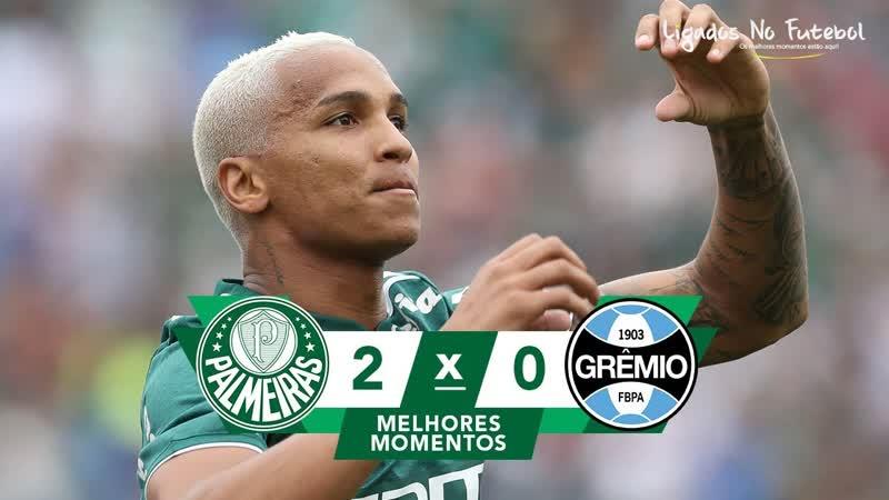 Palmeiras 2 x 0 Grêmio - Gols Melhores Momentos COMPLETO - Brasileirão Série A