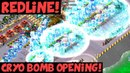 Redline Cryo Bomb Opening! ✦ Three-Hit Tutorial! ✦ Boom Beach