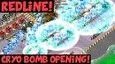 Redline Cryo Bomb Opening! ✦ Three-Hit Tutorial! ✦ Boom Beach