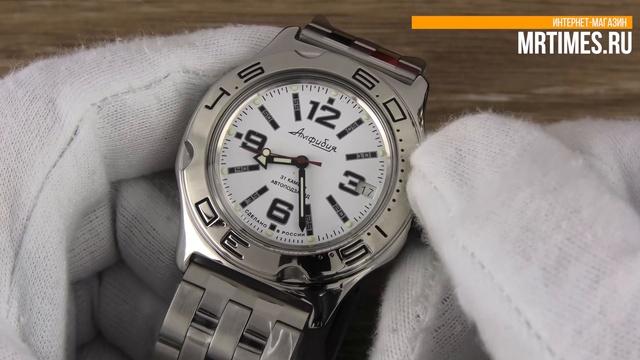Восток Амфибия 100485. Обзор часов Восток Амфибия от MrTimes.ru
