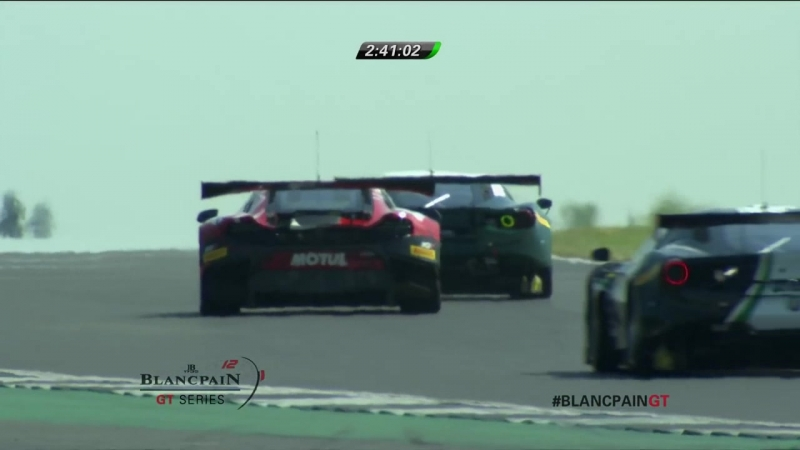 Blancpain GT Series Endurance Cup 2018. Round 4. Silverstone. Race Part 1