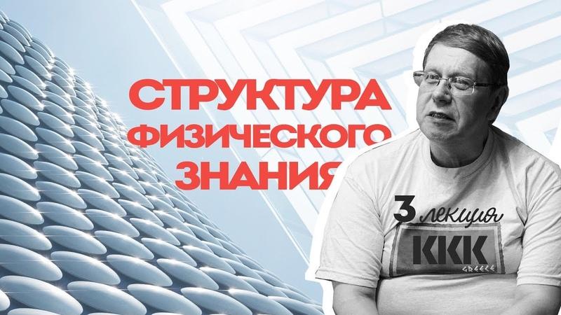 Сергей Переслегин Лекция № 3 Структура физического знания