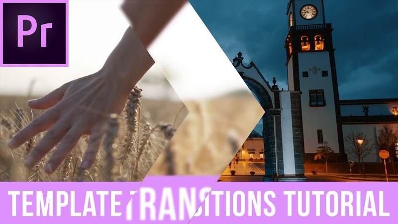 How To Use Motion Array Premiere Pro Template Transitions Template Transition Tutorial смотреть онлайн без регистрации