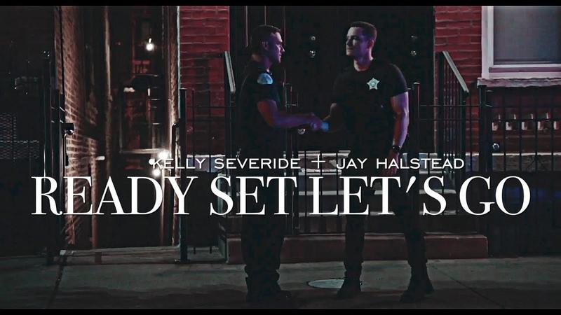 Ready set let's go: kelly severide jay halstead {HBD ADRIA!}
