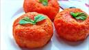 Сырная закуска Мандаринки 🍊 Остренькая закуска с сыром и ветчиной 🍊 Закуски на праздничный стол