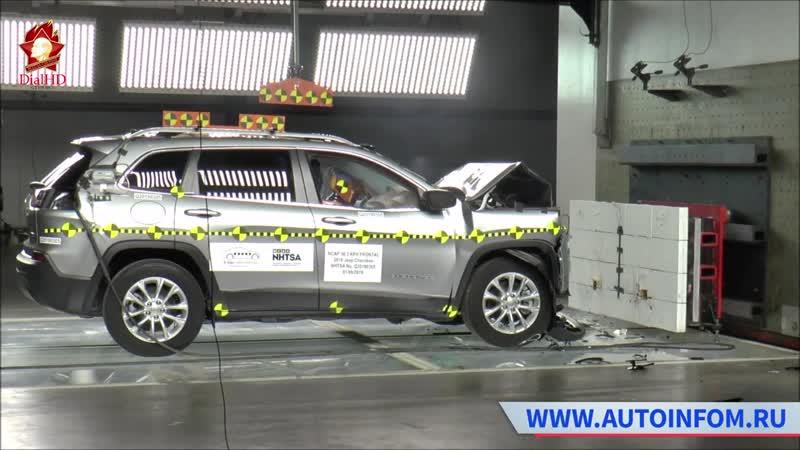 Серия новых краш тестов Euro NCAP 2019