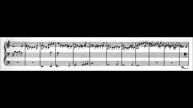 In dulci jubilo (BWV 751) by J. S. Bach for organ