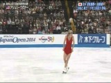 Japan Open 2014. Ashley WAGNER