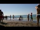 Пляж Судака море немного не спокойное 2)