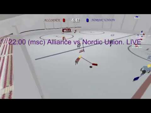 IPHL Rebirth Cup 2019. Group Stage. First Round. Alliance vs Nordic Union