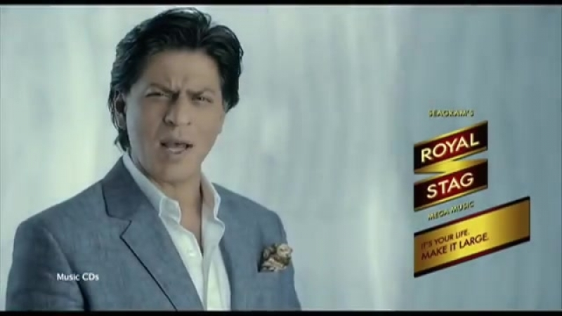 Small Milate Jao Large Banate Jao Royal Stag Ad with Shahrukh Khan