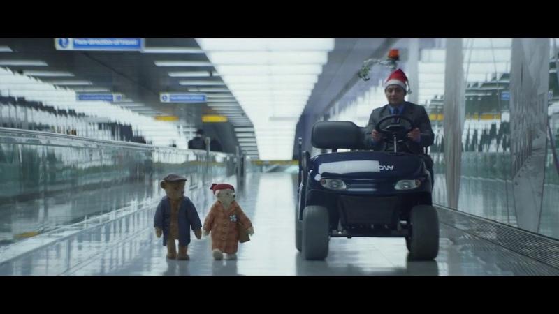 Аэропорт Хитроу Классный рождественский ролик