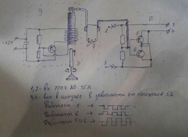 6)9- качер Бровина(генератор