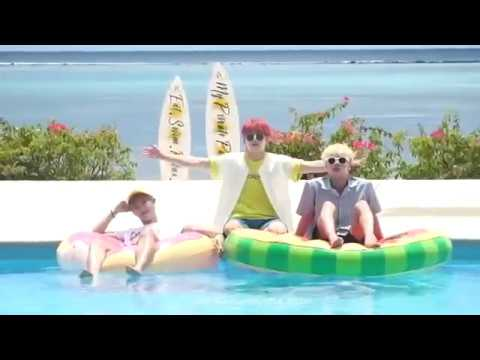 ENG SUB BTS SUMMER PACKAGE 2018 in Saipan DAY 1