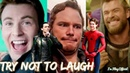 Marvel Cast Hilarious Bloopers and Gag Reel Avengers Infinity War Special