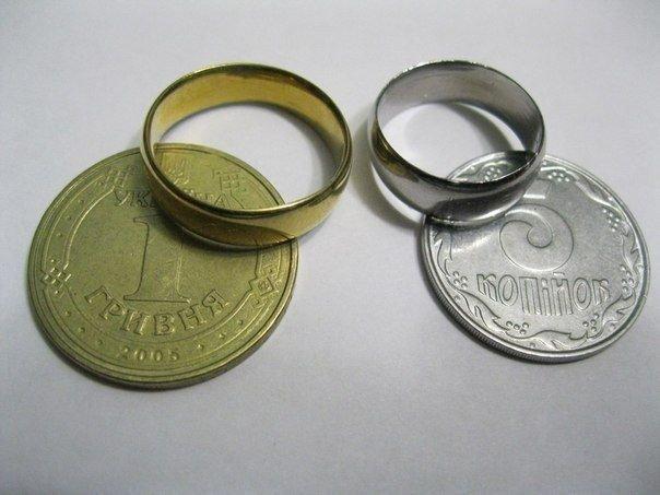 Как сделать кольцо из обычной монеты? Необычный подарок, который сделан своими руками ;) Смотреть инструкцию.. »