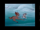 Bambi the first snow (german)