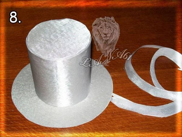 Как сделать маленькие шляпки из бумаги