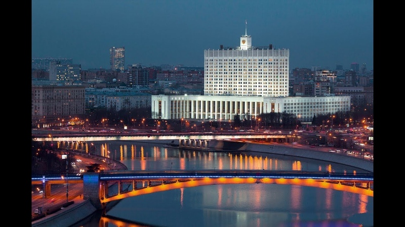Электропоезд Москва-2 метромост у Дома Правительства, Киевская -Смоленская