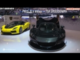 Top 7 Most POWERFUL SUPERCARS in the world -- Cars Have Too Much Horsepower