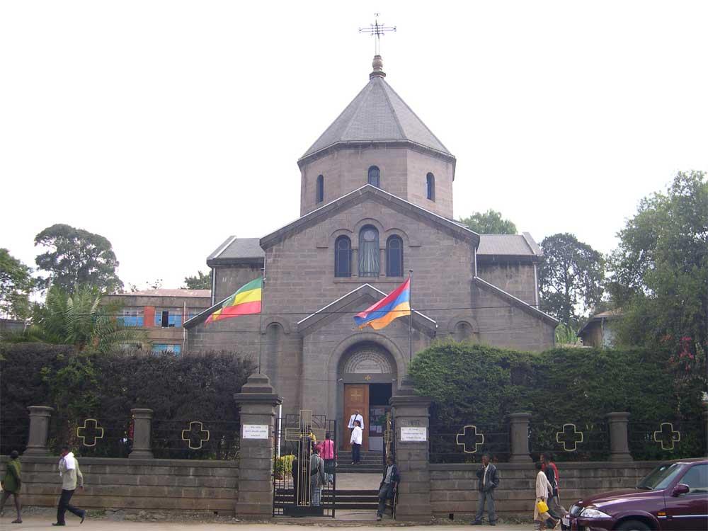 Церковь Святого Георгия (Геворга) — храм Армянской апостольской церкви в городе Аддис-Абеба, Эфиопия.